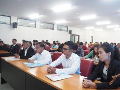 ปฐมนิเทศนักศึกษาใหม่ระดับบัณฑิตศึกษา 2/2561