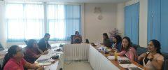 การประชุมเพื่อเตรียมความพร้อมในการดำเนินโครงการการประชุมวิชาการและเสนอผลงานวิจัย