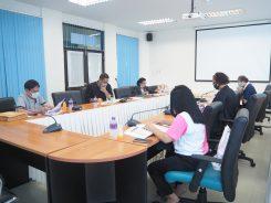 ประชุมคณะกรรมการประจำหลักสูตรฯ สาขาวิชาการบริหารการศึกษา (1 พ.ค. 63)